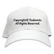 TSUBOMIN / COPYRIGHT CAP WHITE