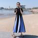 【dress】早い者勝ちファッション切り替え高級感デートワンピースオシャレ