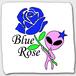 Blue Rose (ハンドタオル)