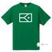 BIGフラッグ×キャラクターTシャツ(グリーン×ホワイト)