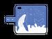 【手帳型iPhoneケース】ザトウクジラの見る夢