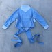 oneoff remeke / west tie sweat top / blue