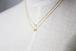 Tiny-Tiny イニシャル ネックレス(GOLD)
