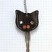 【送料無料】猫の本革キーカバーM KCM106