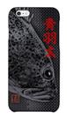 魚拓スマホケース【青羽太(アオハタ)・ハードケース・背景:黒・送料無料】