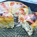 ピンクグレープフルーツのベイクドチーズケーキ