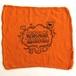 Cycle Trash 21th anniversary Shop Towel, Orange Fart by Burrito Breath