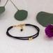 ◍tenowa(black) bracelet