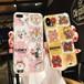 オリジナル アイフォンXケース  兎 熊 イラスト iPhone7 Plusケース 芸能人愛用 ソフトケース ペア ジャケット系 アイフォン6s携帯カバー