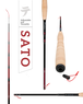 SATO/TENKARA USAテンカラ竿と毛鉤のセット