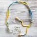 Braided Choker -Crystal Single Point-