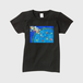 「滲む頃」レディースTシャツ