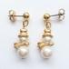 """""""AVON"""" Pearly Snowman pierce[p-560]"""