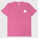 【オリジナルTシャツ】 ワンポイントピンク(5.6oz. 綿100%)