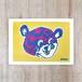 Rob Kidney/Titty Bear screen print (YELLOW)