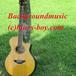 軽快で力強いロック調音楽素材・BGM素材(アコースティックギター・ピアノ・ストリングス)