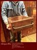 数量限定 OWB - 40 古材 アンティーク ボックス アイアン 木箱 収納 取手 ビンテージ 多目的箱