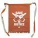 【前掛け】SAKE IS JUSTICE / 茶