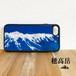 穂高岳 強化ガラス iphone Galaxy スマホケース アウトドア 登山 山