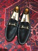 .GUCCI LEATHER HORSE BIT LOAFER MADE IN ITALY/グッチレザーホースビットローファー 2000000040882