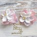 Girly Flowers  Pierce -Pink Mix-