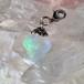 オーロラ液晶 虹のダイヤ ポイントチャーム