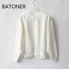 BATONER/バトナー・Degrease Crew Neck