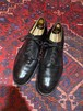 VINTAGE US NAVY SERVICE SHOES LEATHER PLAIN TOE SHOES MADE IN USA/ヴィンテージアメリカ海軍レザーサービスシューズレザープレーントゥシューズ