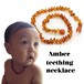 【BABY】AMBER TEETHING BABY NECKLACE