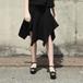 ruffle skirt/(black)【ご予約商品】