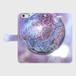 (iPhone6Plus/6sPlusサイズ)手帳タイプ:桜の宇宙(KAGAYA)