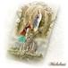 ルルドの泉 聖母マリア メダイ&フォー・ウェイ・クロス 十字架 ペンダント