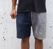 """BI-COLOR CORD SHORTS"" 70's Levi's 517&519 グレー×ネイビー size:W33"