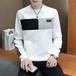 【メンズ】メンズファッションシンプル長袖ラウンドネックメンズカットソー25867299