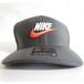 <NEW>NIKE CLASSIC99 SWOOSH FLEX CAP in Grey UNISEX M/L size