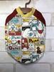 シロクマさん ラグランTシャツ SS/S/DS/M/DM/L サイズ