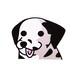 ダルメシアン(小)     犬ステッカー