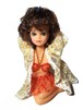 70's vintage pinup doll (BK x RD)