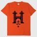 Tシャツ Hanoi:オレンジ TRUSS 5.6oz