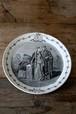 フランス プレート FRANCE Plate / an-14013 / Creil et Montereau