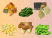 北海道十勝産 冷凍野菜Bセット(南瓜・いんげん・サラダベース・コーン・枝豆・フライドポテト各1袋)