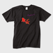 KINGYO メンズTシャツ 黒