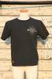 Vanson(バンソン)Tシャツ Mサイズ スカル・ブラック【VAN-t-03】