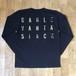 【残りわずか】GAGLE - Vanta Black ロングスリーヴ Tシャツ