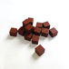 茶色10mm木製キューブ(約150個)