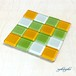 ガラスタイルコースター(vegetable)