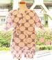 ドット柄♡涼しい夏 甚平セット(ピンク)