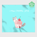 【HappyUnbirthday!カップケーキ屋さん】マイクロファイバークロス