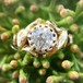Diamond Gold Solitaire Ring