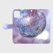 (iPhone11シリーズ)桜の宇宙(kagaya)_手帳タイプ